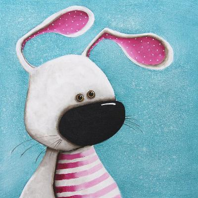 The Pink Bunny-Lucia Stewart-Art Print