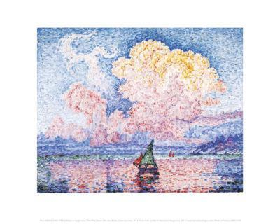 The Pink Cloud-Paul Signac-Art Print