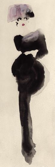 The Pink Hat-Bridget Davies-Art Print