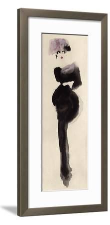 The Pink Hat-Bridget Davies-Framed Art Print