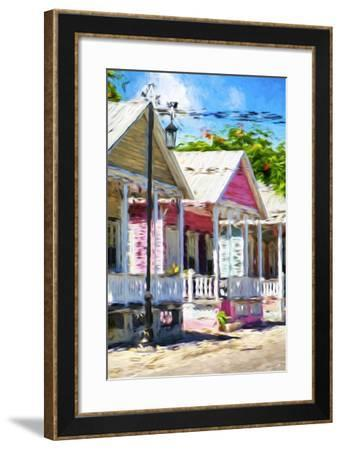 The Pink House II - In the Style of Oil Painting-Philippe Hugonnard-Framed Giclee Print