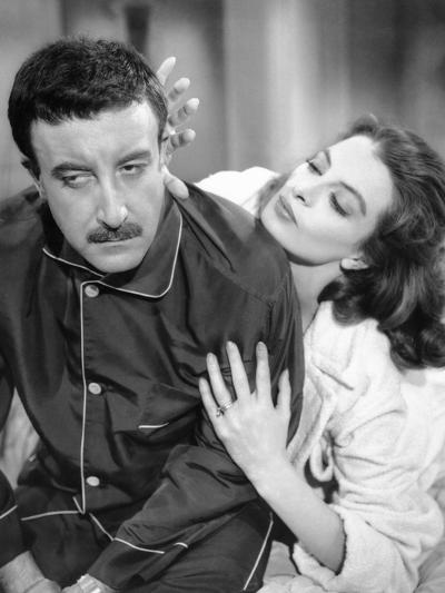 The Pink Panther, Peter Sellers, Capucine, 1963--Photo
