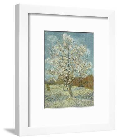 The Pink Peach Tree, 1888-Vincent van Gogh-Framed Art Print