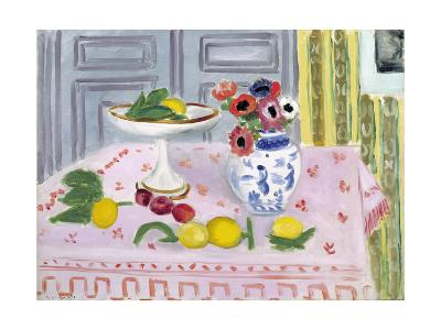 The Pink Tablecloth, 1925-Henri Matisse-Giclee Print