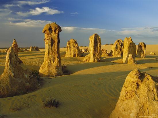 The Pinnacle Desert, Nambung National Park Near Perth, Western Australia  Photographic Print by Gavin Hellier | Art com