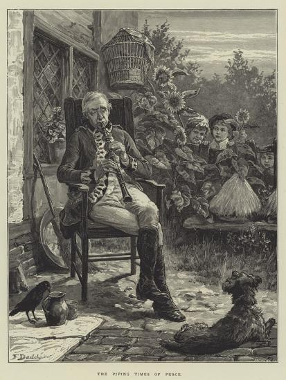 The Piping Times of Peace-Frank Dadd-Giclee Print