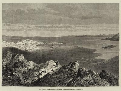 The Piraeus and Port of Athens, from the Seat of Xerxes--Giclee Print