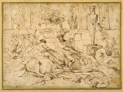 The Plague at Ashdod-Giovanni Benedetto Castiglione-Giclee Print