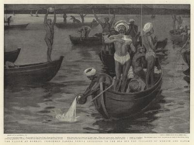 The Plague at Bombay-William Hatherell-Giclee Print