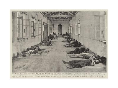 The Plague at Hong Kong--Giclee Print