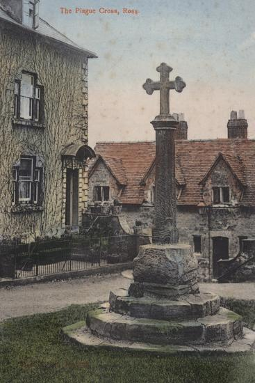 The Plague Cross, Ross--Photographic Print