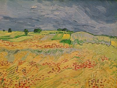 The Plain at Auvers, c.1890-Vincent van Gogh-Giclee Print