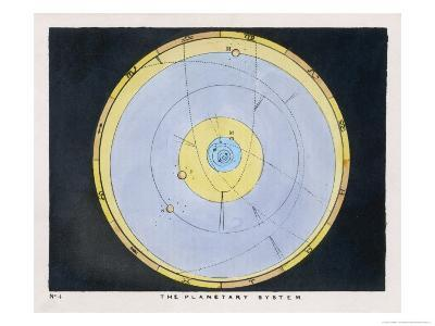 The Planetary System-Charles F^ Bunt-Giclee Print