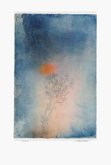 The Plant and Its Enemy-Paul Klee-Collectable Print
