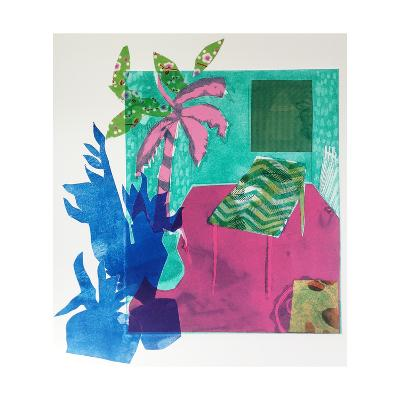 The Plants are on their Way Out, 2015, Aquatint Etching with Chine-Coll?-Rose Electra Harris-Giclee Print