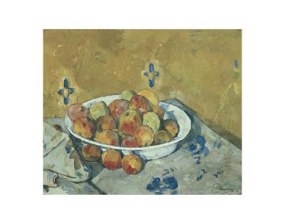 The Plate of Apples, c.1897-Paul C?zanne-Art Print