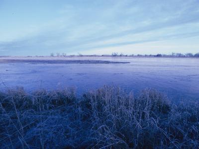 The Platte River in Central Nebraska-Joel Sartore-Photographic Print