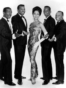The Platters Groupe De Musiciens Rythm and Blues Chanteurs Noirs