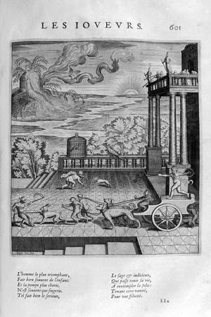 The Players, 1615-Leonard Gaultier-Giclee Print