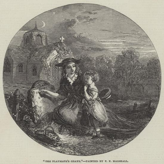 The Playmate's Grave-Thomas Falcon Marshall-Giclee Print