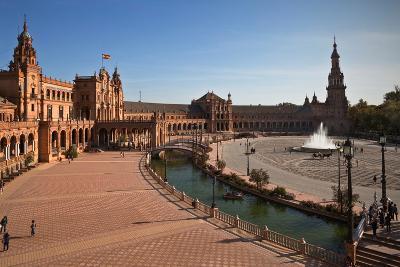 The Plaza De Espana--Photographic Print