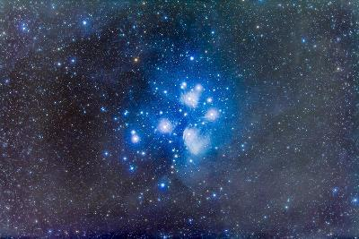The Pleiades, also known as the Seven Sisters-Stocktrek Images-Photographic Print