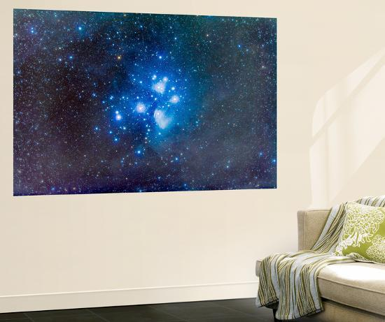 The Pleiades, also known as the Seven Sisters-Stocktrek Images-Wall Mural