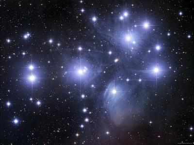 The Pleiades-Stocktrek Images-Photographic Print