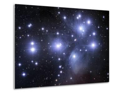 The Pleiades-Stocktrek Images-Metal Print