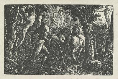 The Ploughman: Christian Ploughing the Last Furrow of Life-Edward Calvert-Giclee Print