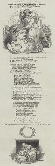 The Poet's Grave--Giclee Print