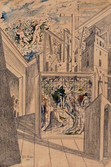 The Poet's House-De Chirico Giorgio-Giclee Print