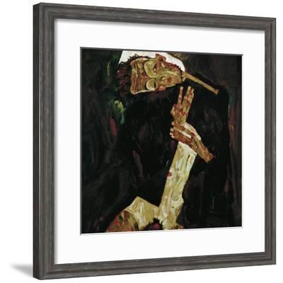 The Poet (Self-Portrait), 1911-Egon Schiele-Framed Giclee Print