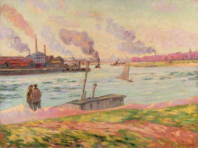 The Pointe D'Ivry, 1886-Armand Guillaumin-Giclee Print