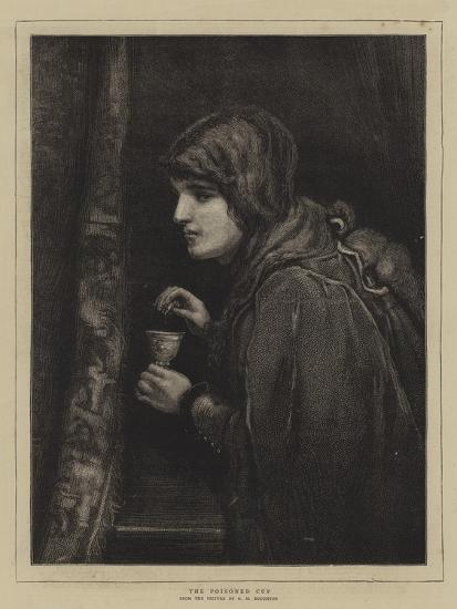 The Poisoned Cup-George Henry Boughton-Giclee Print