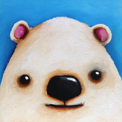 The Polar Bear-Lucia Stewart-Wall Mural