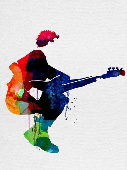 The Police Watercolor-Lora Feldman-Premium Giclee Print