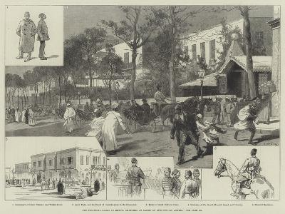 The Political Crisis in Egypt, Sketches at Cairo-Charles Auguste Loye-Giclee Print