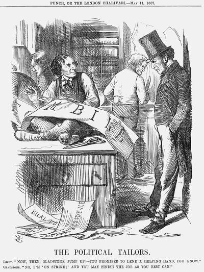 The Political Tailors, 1867-John Tenniel-Giclee Print