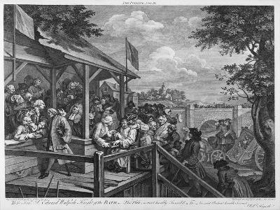 The Polling, 1758-William Hogarth-Giclee Print