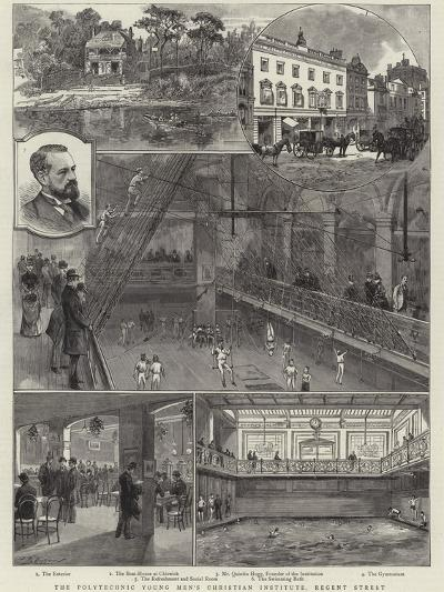 The Polytechnic Young Men's Christian Institute, Regent Street--Giclee Print