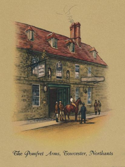 'The Pomfret Arms, Towcester, Northants', 1939-Unknown-Giclee Print