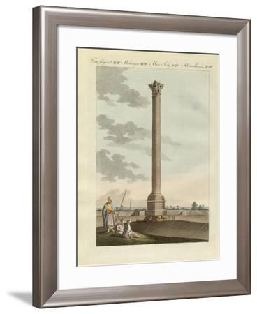 The Pompeian Column--Framed Giclee Print