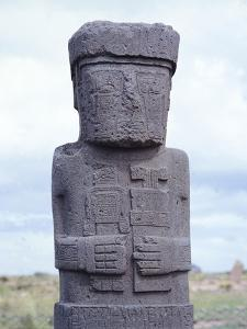 The Ponce Monolith, Tiahuanaco or Tiwanaku