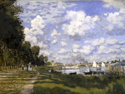 The Pond of Argenteuil-Claude Monet-Art Print