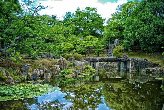 The Pond of the Ninomaru Garden-Kike Calvo-Photographic Print