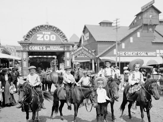 The Ponies, Coney Island, N.Y.--Photo