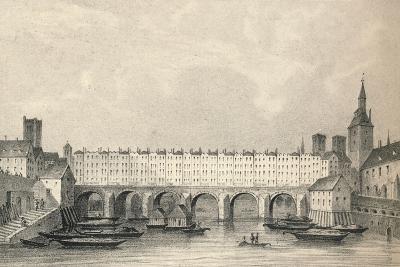 The Pont Au Change, 1915- Pernot-Giclee Print