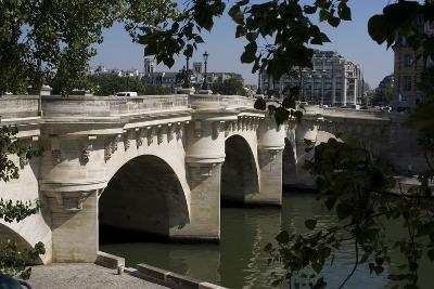 The Pont Neuf (Over the Seine River), Paris, France-Natalie Tepper-Photographic Print