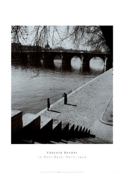 The Pont-Neuf, Paris-Edouard Boubat-Art Print
